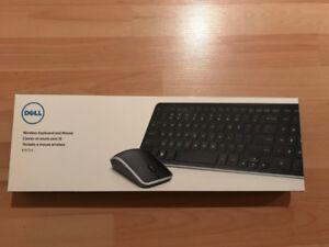 Clavier et souris sans fil de marque Dell (Neuf)