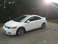 2007 Honda Civic Si 6speed fully equipped Brand New' snow tires