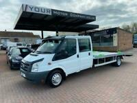 2009 Ford Transit D/Cab Chassis TDCi 100ps [DRW] CHASSIS CAB Diesel Manual
