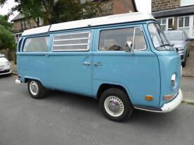 Volkswagen T2 4 berth pop top centre dinette campervan for sale ref 15187