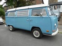 Volkswagen T2 4 berth pop top centre dinette campervan for sale ref 15187