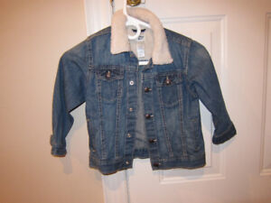 Kid's Jean Jacket Size 5