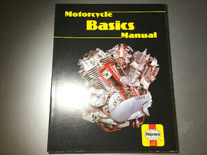 Motorcycle Basics by Pete Shoemark Haynes 1985 Scooters Mopeds