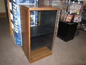 Stereo Stand With Glass Door For Sale