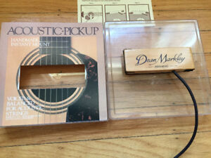 Vintage Dean Markley Promag acoustic pickup - USA+HAND MADE -
