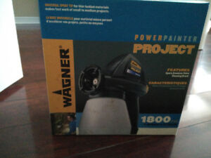MAKE PAINTING A BREEZE WITH THIS BRAND NEW WAGNER POWER WASHER!