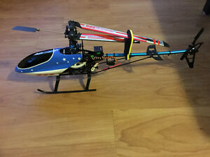 Two 450 Helicopters for parts or rebuild and remote