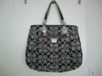 Coach Signature Poppy Tote Purse