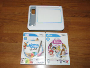Nintendo Wii uDraw Tablet with Games