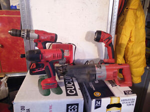 Milwaukee 18V 7pc Combo Kit