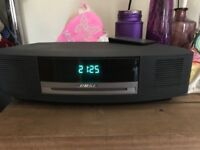 Bose wave radio and cd player