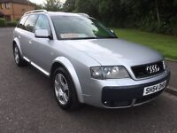 Audi A6 allroad 2.5 TDI 210hp 6speed 12 stamps March mot drives great