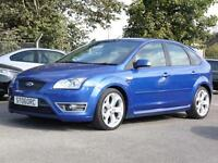Ford Focus 2.5,ST-2 2006, Blue, 5 Door Hatchback, FSH,, 6 Months AA Warranty