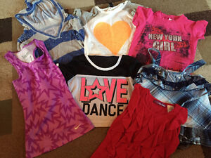 Size 7-8 Girls Shirts and Tanks
