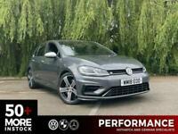 2018 Volkswagen Golf 2.0 R TSI DSG 5d 306 BHP Hatchback Petrol Semi Automatic