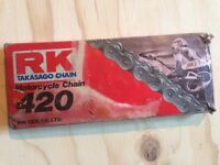 RK Motorcyle Dirtbike chains 425 428 428H