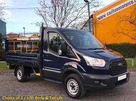 2014 /14 Ford Transit 310s L1-H1 Dropside+Tail-Lift 2.2TDCi 100 RWD Low Mileage