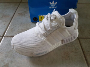 STEAL - Triple White Adidas NMD!