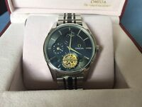 Omega De Ville Style men's watch with Tourbillon and Moonphase