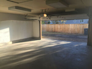 South Side Double Garage