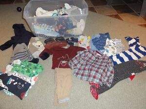 lot de vêtements pour garcon 0-2 ans