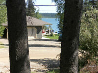 reduced   rustic cabin for sale at emma lake