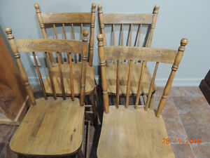 Wooden Chairs London Ontario image 1