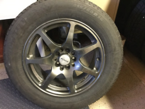 Mag rims 16 po et Michelin winter