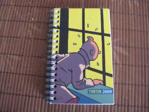 Agenda de poche Tintin 2009