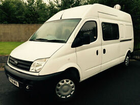 2008 58 LDV MAXUS 9 SEAT CREW VAN 3.5T 95 LONG WHEEL BASE HIGH ROOF *NO VAT*
