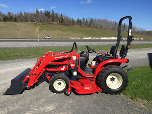 """New 24 hp Compact tractor and 60"""" Mower from Branson $227.91"""