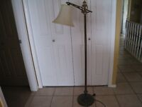 Antique Bridge Floor Lamp