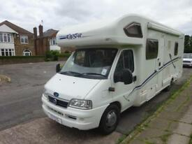 2006 Lunar Roadstar 786 6 Berth Fixed Bed Motorhome For Sale Ref 15213