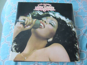 12 Disco Vinyl Records (Used) Sold as a bundle