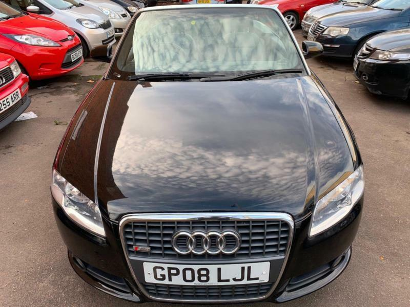 2008 Audi A4 Cabriolet 20tdi S Line In Leicester Leicestershire