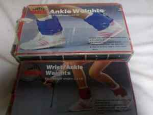 YORK ANKLE and WRIST WEIGHTS 5 POUNDS