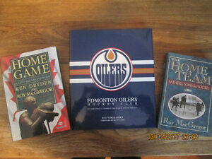 Hockey Related Books Oilers etc....