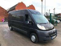 2013 Citroen Relay 2.2HDi 130bhp lwb high roof L3H2 Enterprise van no vat