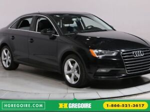 2016 Audi A3 2.0T Komfort MAGS BLUETOOTH CUIR TOIT OUVRANT