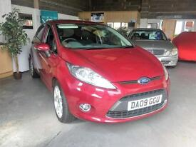 2009 09 Ford Fiesta 1.4TDCi Titanium,Leather