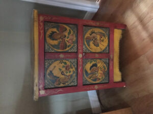 Small oriental style cabinet