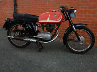 MV AGUSTA 125 TRE 125cc 1965 MOT'd MARCH 2018