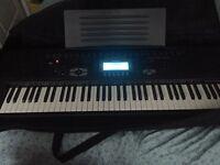 Casio electric keyboard.