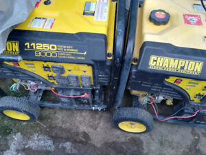 Champion 11,250 W Peak Portable Generator with Intelligauge and