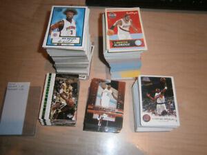 5 NBA BASKETBALL CARDS  COMPLETE SET (JAMES ROOKIE)
