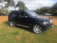 BMW X5 auto. In BLACK with BLACK LEATHER