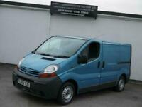 NISSAN PRIMASTAR SE SWB LOW TOP 1.9 DCI 100 BLUE CREW CAMPER DAY SURF VAN NEW MO