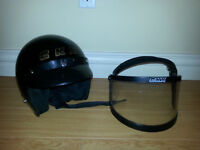 CKX Helmet with visor   $50