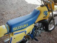 SUZUKI RM 80 LC 1990 VERY TIDY ORIGINAL MX