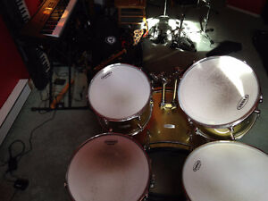 PEARL FORUM DRUM SET+ RIDE CYBBAL **NO HARDWARE** (Canmore)